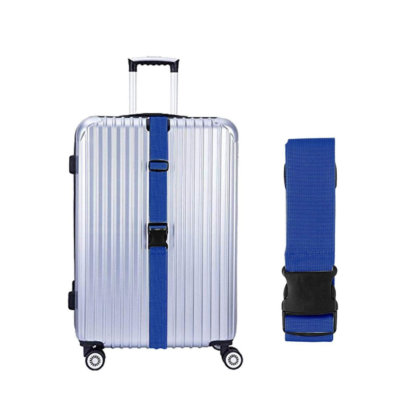 Zubeh/ör TSA Approved Koffergurt Koffer G/ürtel in 5 Farben verkauft in 1//2//4 Set blau 2 St/ück AMOYER Koffergurte
