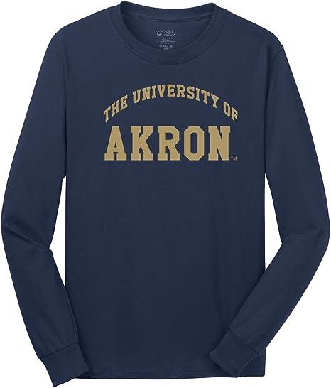 University of Akron NCAA Zips Youth Navy Campus T-shirt