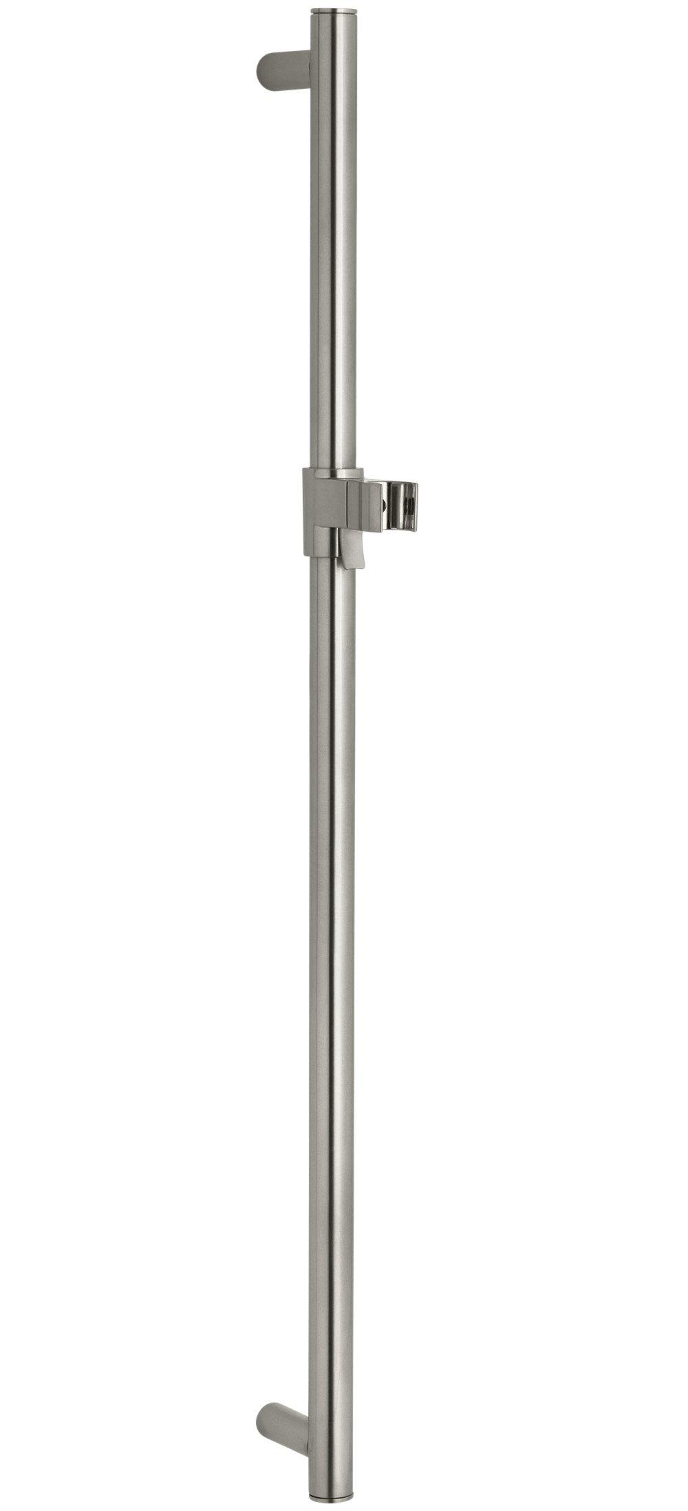 KOHLER K-8524-BN 30-Inch Slide Bar, Vibrant Brushed Nickel