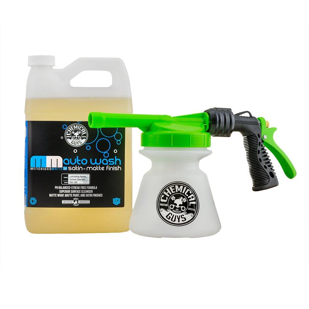 Chemical Guys EQP364 TORQ Foam Gun R1 & Matte Auto Wash, 128. Fluid_Ounces