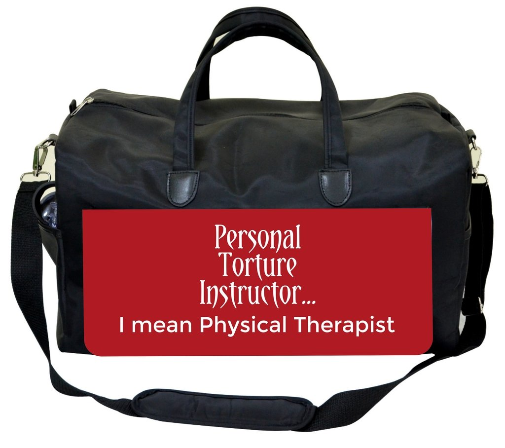 Personal Torture Instructor/…Funny Jacks Outlet Physical Therapist Bag