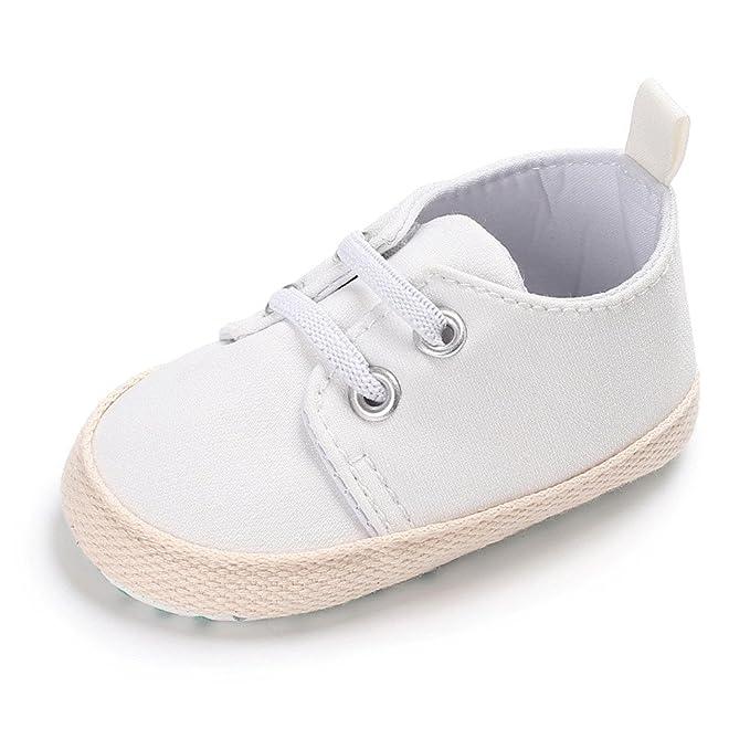 YanHoo Zapatos para bebés Bebé recién Nacido Suela Blanda Cuna ...