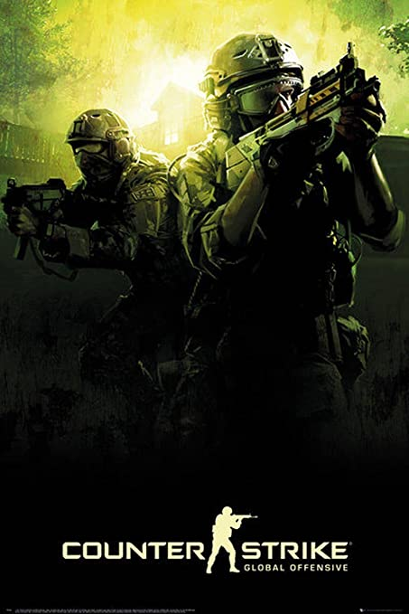 Póster Counter Strike - Global Offensive (61cm x 91,5cm) + 1 póster