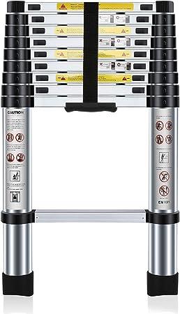 Nestling® 2.9M Escalera Telescópica Multiusos de Aluminio Portátil ...