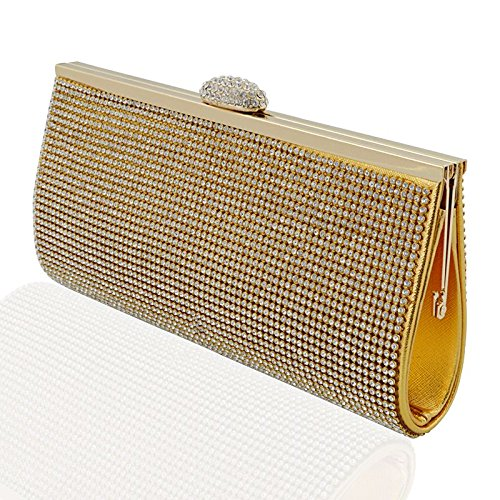 Glam Metallic Clutch - 7