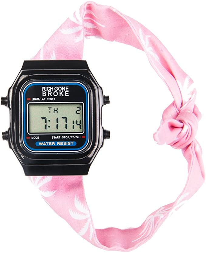 Rich Gone Broke Reloj de Pulsera DLBbu