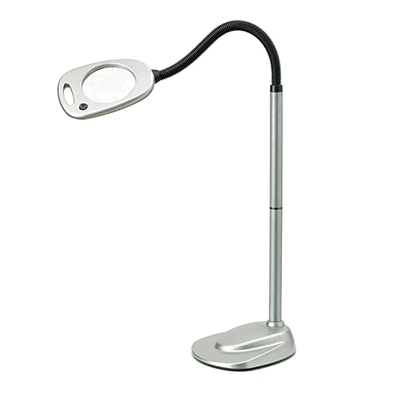 Light It By Fulcrum 12 Led Wireless Magnifying Floor Lamp With