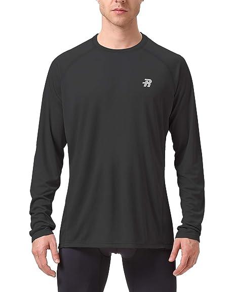 b1605e09794 Runhit Long/Short Sleeve T-Shirts for Men,Outdoor UPF 50+ Sun UV Protection  Dri-fit Workout-and-Training-Shirts,Rash Guard Hiking Running Fishing ...