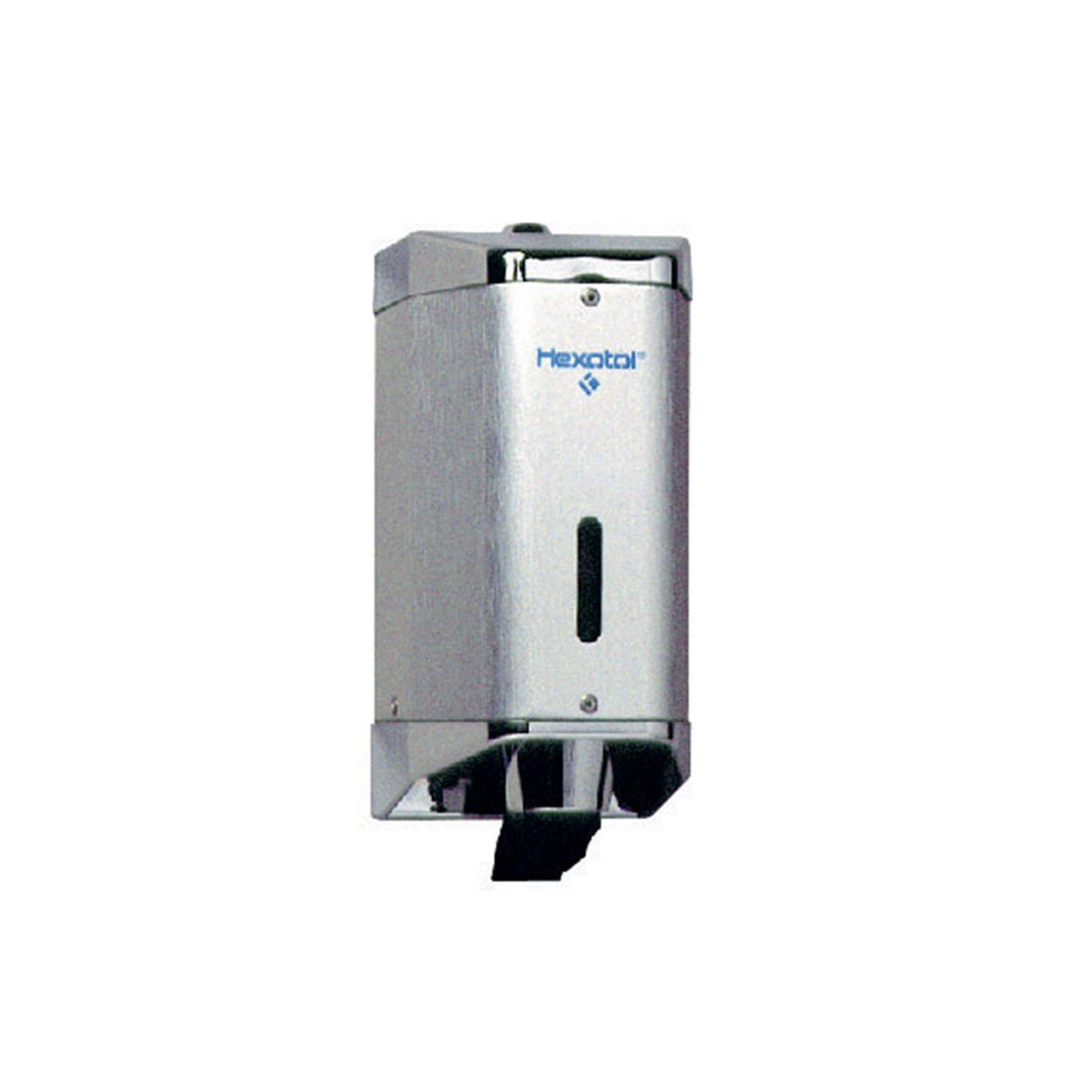 Hexotol CN803 Distributeur de Savon Aluminium Bross/é 11,6 X 10 X 22,5 cm