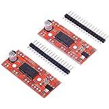 HiLetgo 2pcs A3967 Stepper Motor Drive Board EasyDriver Stepper Motor Driver for Arduino Raspberry Pi Robot