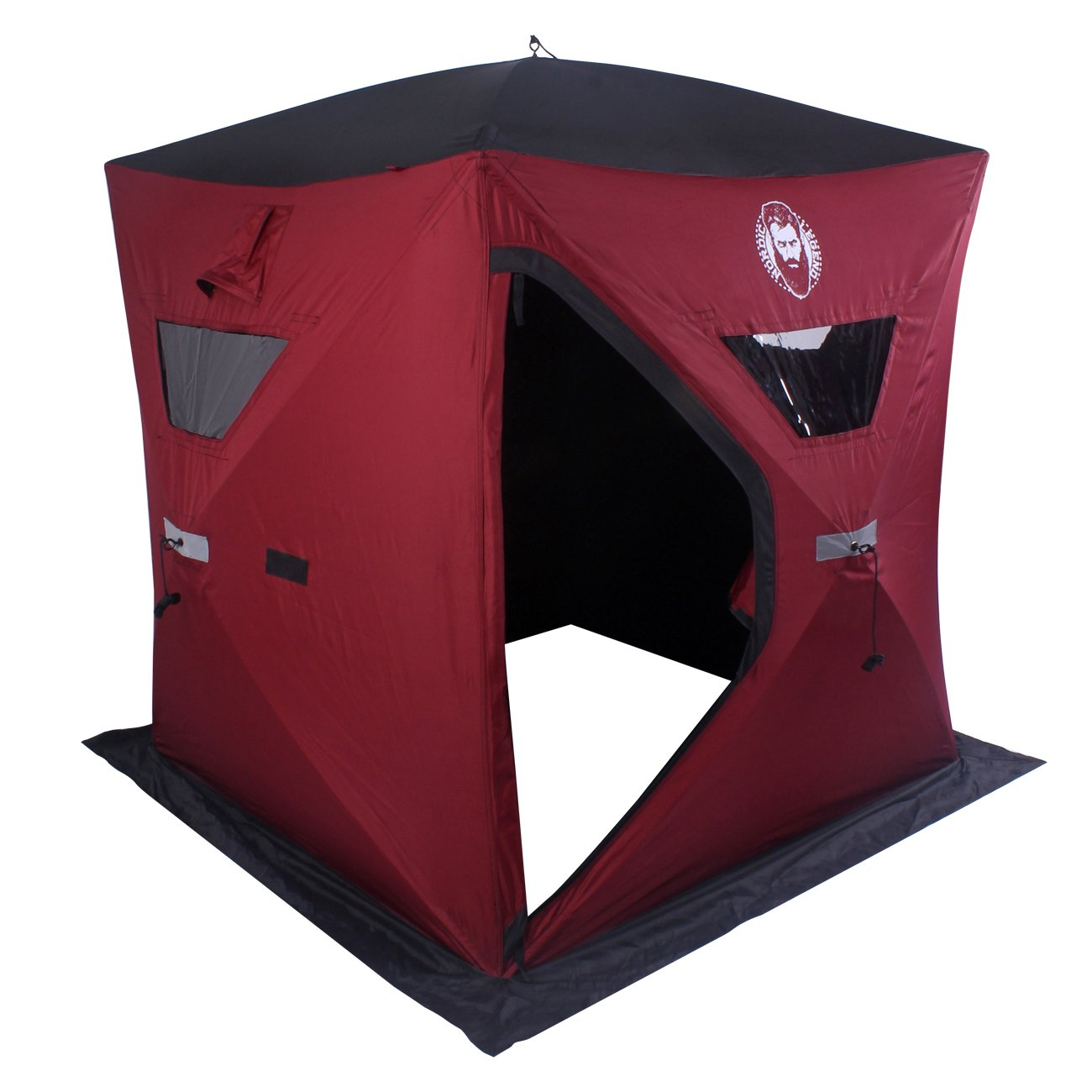 Nordic Legend Two Man Ice Shelter with FREE Bonus Ice Chairs! by Nordic Legend