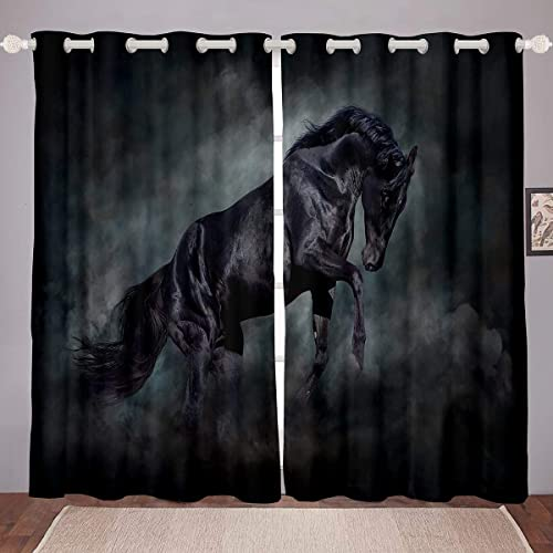 Erosebridal Horse Curtain