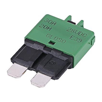 Miraculous Amazon Com 28Vdc 30Amp Circuit Breaker Manual Reset Circuit Wiring 101 Archstreekradiomeanderfmnl