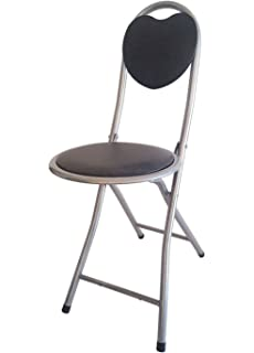 Amazing DLUX Small Folding Chair Extra Padded Cushioned Seat For Comfort