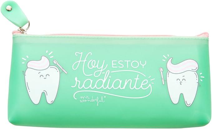 Neceser Mr. Wonderful Hoy Estoy Radiante: Amazon.es: Electrónica