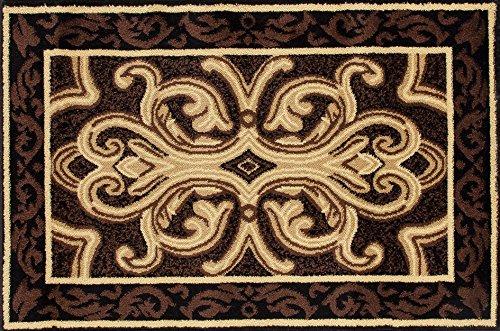 Art Carpet 841864119282 Hearth Rugs Collection, 3' x 4', Brown/Black by Art Carpet