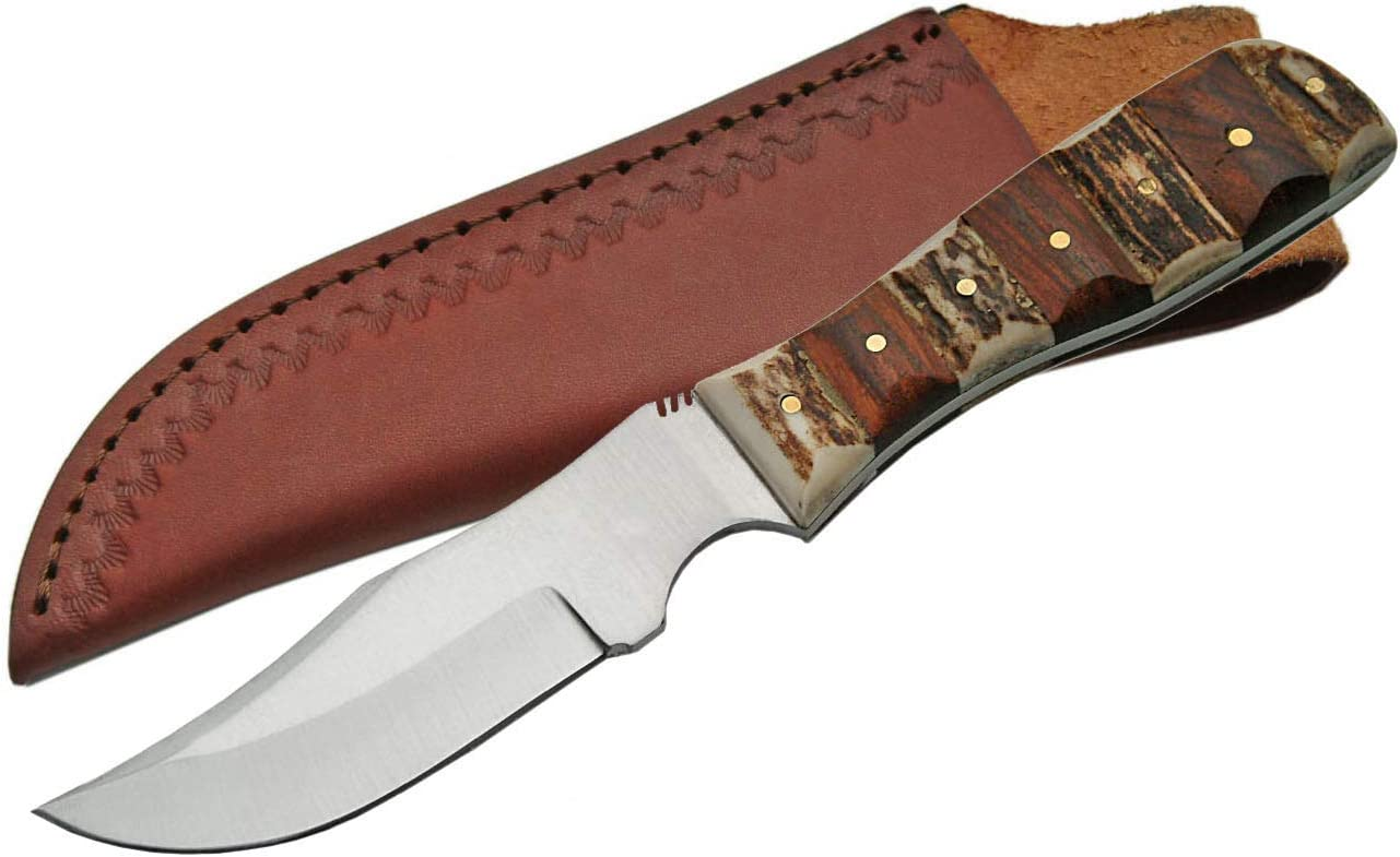SZCO Supplies Clip Point Skinner Knife
