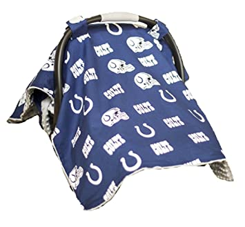 Amazon Com Carseat Canopy Nfl Indianapolis Colts Baby Infant