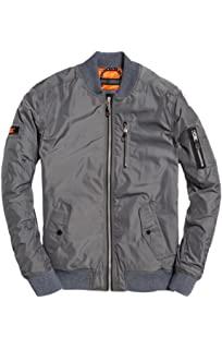 Superdry Mens Rotor Jacket Black at Amazon Mens Clothing store