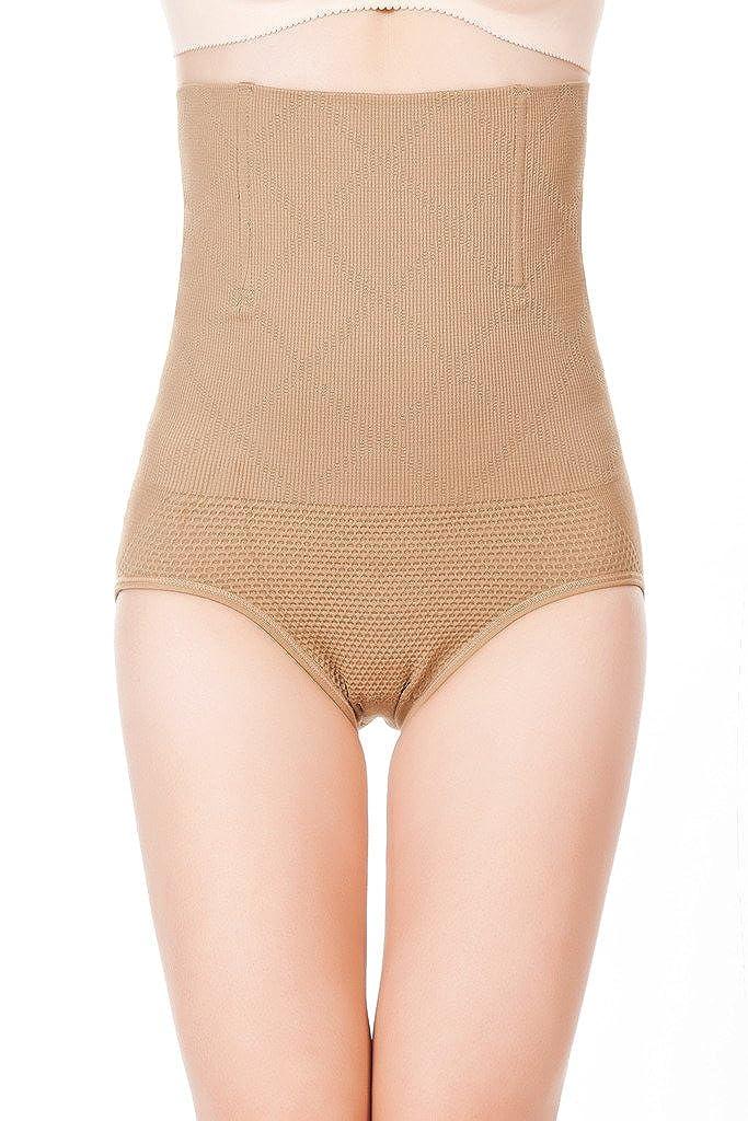 DODOING Damen Figurenformend Miederslip mit Bauch-Weg-Effekt Taillenhosen Waist Trainer Shaper Erweiterter Miederslip Y558-DEAC