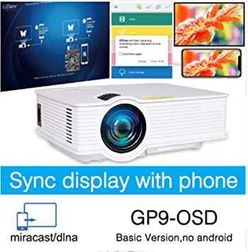 OSB STYLE Mini proyector led inalámbrico Pantalla de ...