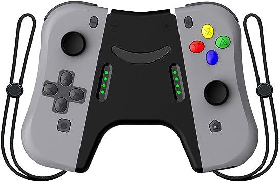 Defway Joy con Controlador para Nintendo Switch, L/R Joycon Pad con Correa de muñeca, Joycons Reemplazo para Nintendo Switch Controllers, Wired/Wireless Switch Remotes – Rojo y Azul: Amazon.es: Electrónica