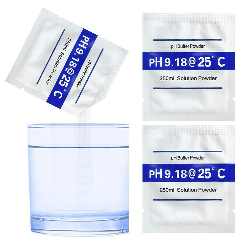 Bihood PH Buffer Solution Buffer PH Buffers pH Meter pH Test Soil pH Meter pH Buffer pH Balance pH Controller PH Meter Buffering Solutions Calibrations Meters Measure PH9.18