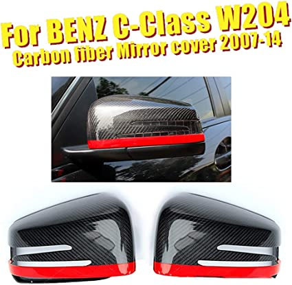 AMYD Copri Specchietto Coppia di Auto Specchietto Retrovisore Segnale di Svolta Coperchio Indicatore Luce Specchietto Laterale per Volvo Xc60 2009-2013 Fumo