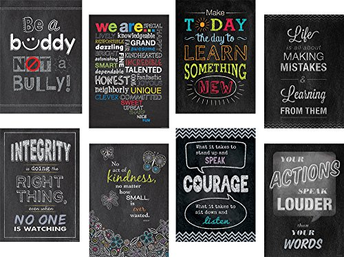Creative Teaching Press Inspire U 8-Chart Pack (6686) ()