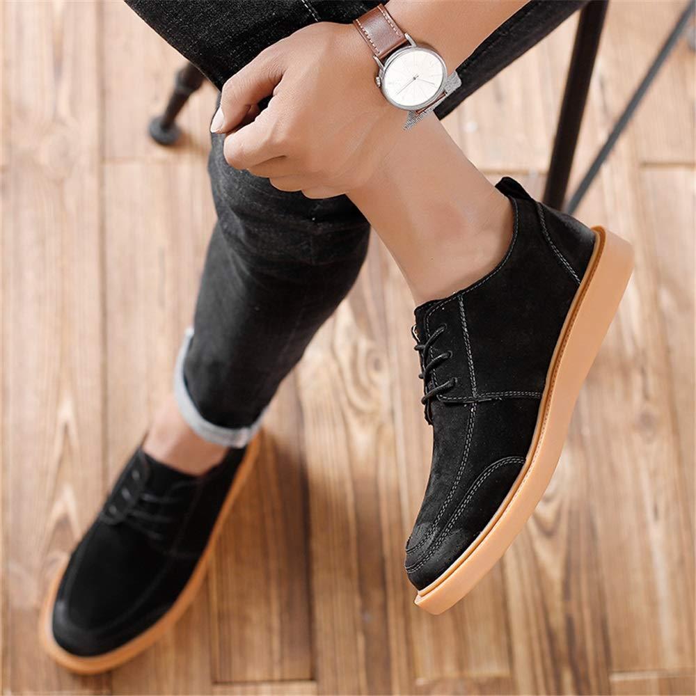 Zhangcaiyun Scarpe in in in Pelle per Uomo Moda Oxford Comoda Classica retrò Stringate Scarpe Oxford da Lavoro (Colore   Nero, Dimensione   41 EU) 8e29a3