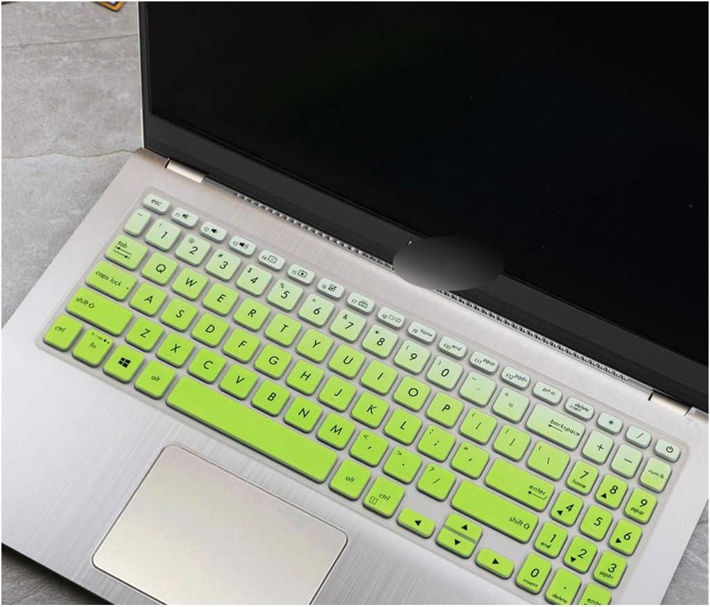 Copritastiera in silicone compatibile con Asus Vivobook 15 F512FA F512DA F512F F512 A512 A512FJ A512F X512F FA DA 15,6 pollici Fadepink
