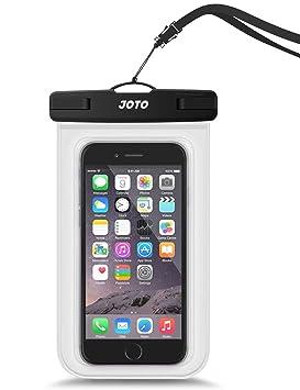Bolsa Estanca Móvil Universal, JOTO IPX8 Bolsa Seca Impermeable para iPhone XS Max/XR/X/8/7+/6S/6S+, Galaxy S10/S10e/S9/S9+/Note8, Pixel 3, Huawei ...