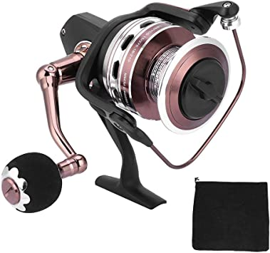 Alomejor Full Metal Ball Bearing Spinning Carrete de Pesca Agua ...