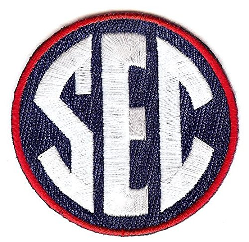 SEC Conference Team Jersey Uniform Patch Ole Miss Rebels (Rebel Toons)