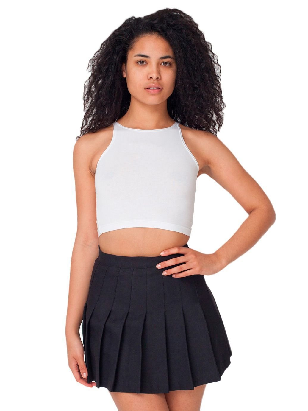 American Apparel Women's Tennis Skirt Size M Black by American Apparel