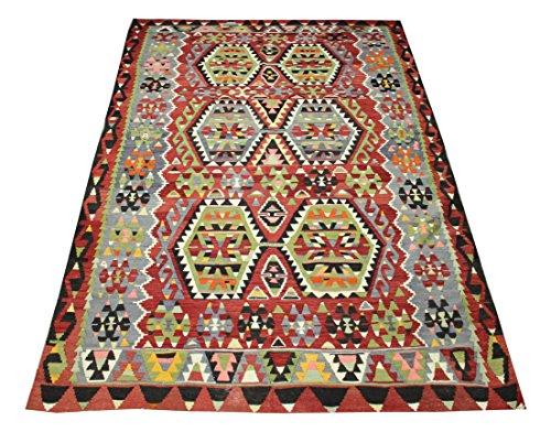 Turkish Kilim rug 10,3x6 feet Area rug Old Rug Bohemian Kilim Rug Floor rug Sofa Decor Rustic Kilim Rug Oriental kilim rug