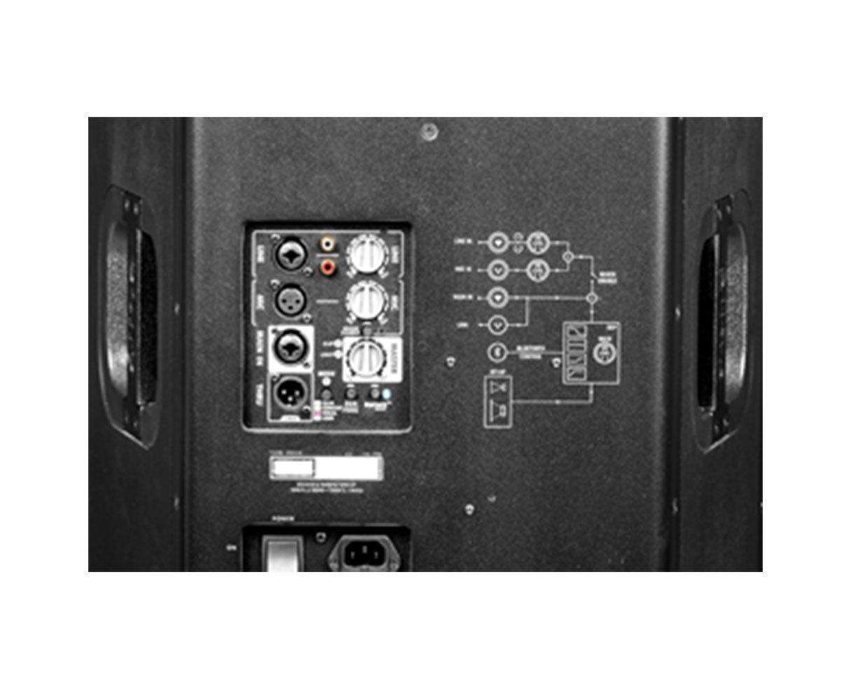Yorkville EF15P Elite 15 1200 Watt Active Speaker Powered Monitor
