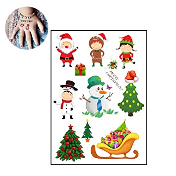 Weihnachtsmotive Kinder.Hou Zhi Liang Tattoos Für Kinder Temporäre Tattoos