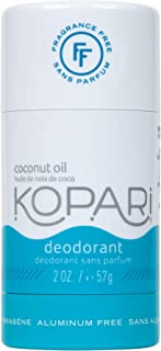 product image for Kopari Aluminum-Free Deodorant Fragrance Free for Sensitive Skin | Non-Toxic, Paraben Free, Gluten Free & Cruelty Free Men's and Women's Deodorant | Made with Organic Coconut Oil | 2.0 oz