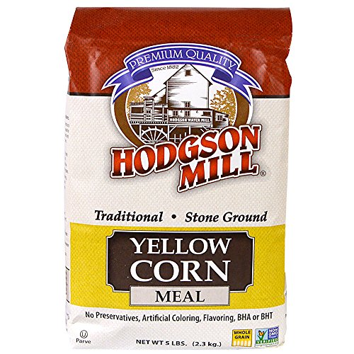 Hodgson Mill Yellow Corn Meal, 5-Pounds (Pack of 6)