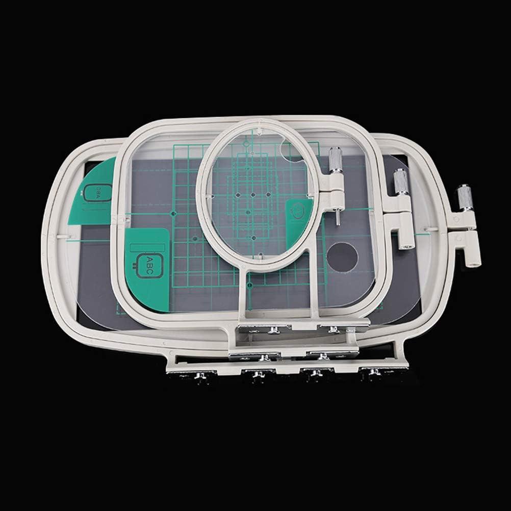 SUPVOX 3PCS Embroidery Hoop Set for Brother Embroidery Machines SE270D SE350 SE400 HE120 HE240 500D 900D 950D LB6770PRW LB6800PRW NV950