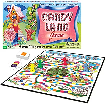 Amazon.com: Winning Moves Candy Land - Juego de mesa ...