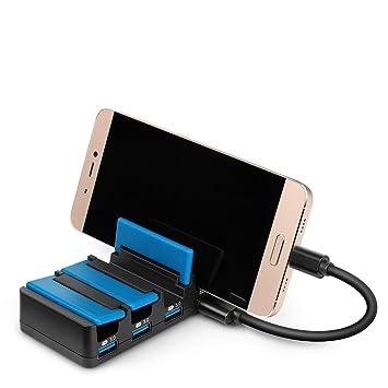 MAD GIGA estación de Carga USB, Cargador Universal 4 Puertos ...
