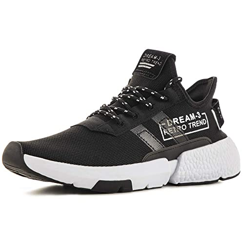 Justperkun Men s Running Sneakers,Lightweight and Breathable Comfortable Walking Shoes