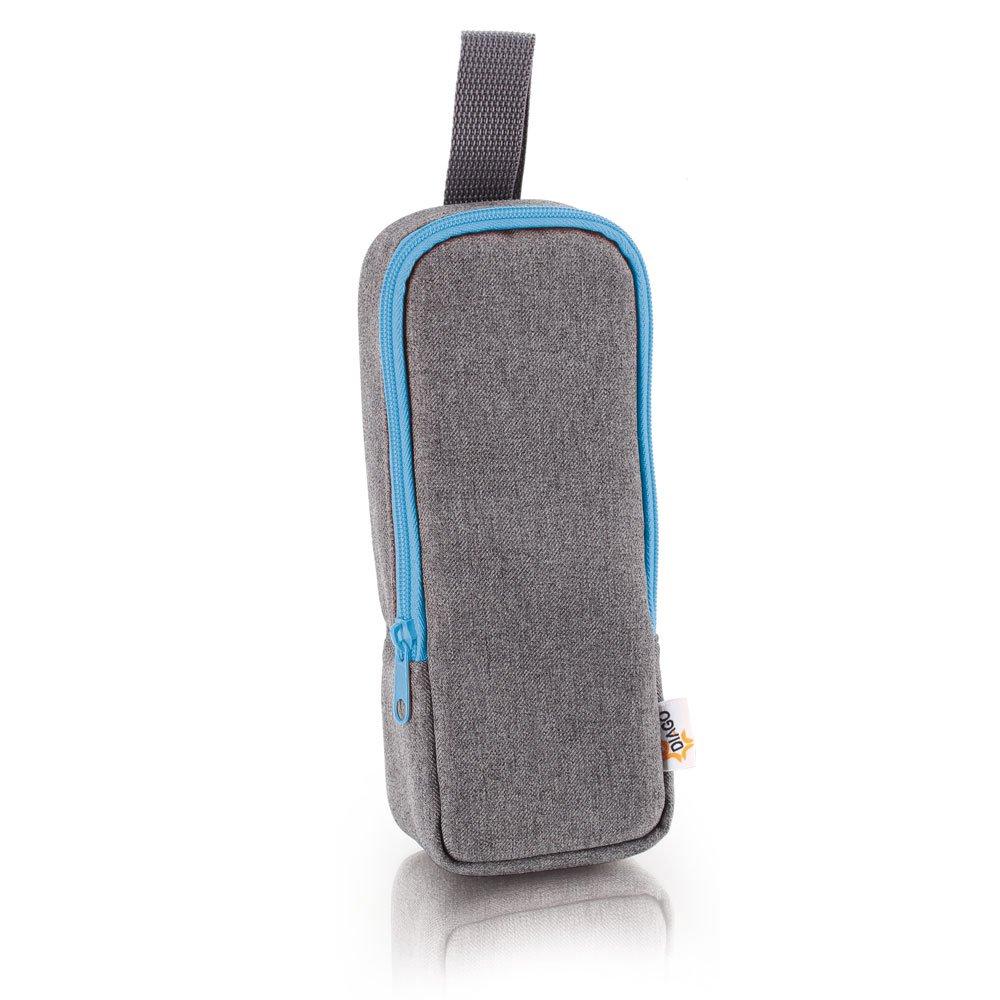 DIAGO 30065.75275 Deluxe Isoliertasche grau/blau