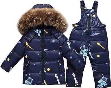 Giacca Impermeabile Per Bambini Cappotto Parka Foderato Caldo Bambini Inverno RRP £ 39