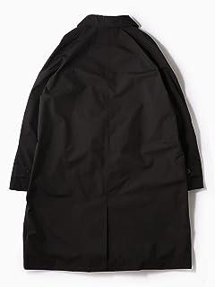 Gore-Tex Polyester Balmacaan Coat 114-11-0562: Black