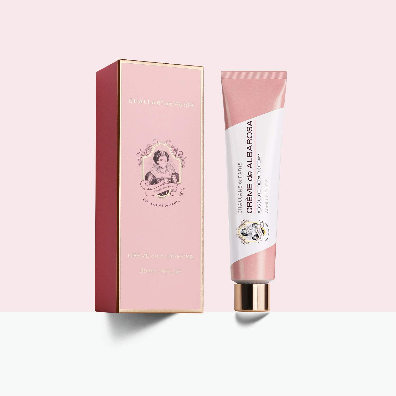 CHALLANS de PARIS CREME de ALBAROSA 1.01 Fl. Oz. (30mL) | Hyperpigmentation Treatment Night Cream