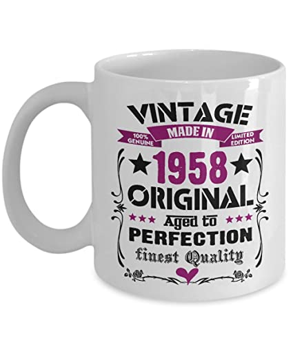 Happy 60th Birthday Mugs For Women Men 11 OZ