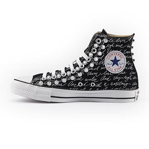 converse scarpe con borchie